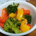ホットクックで湯で野菜を作ってみた